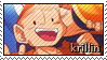 Krillin stamp by Gezusfreek