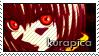 Kurapica stamp by Gezusfreek