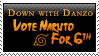 Down with Danzo Stamp by Gezusfreek