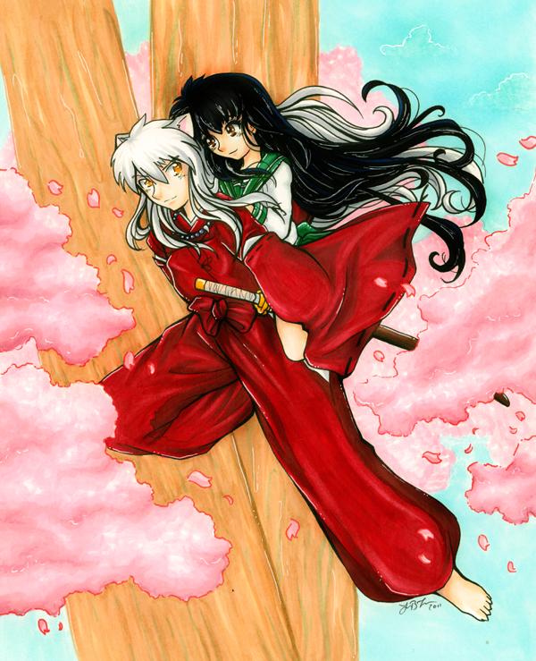 Inuyasha By Animegirl151 On Deviantart: Inuyasha And Kagome By Gezusfreek On DeviantArt