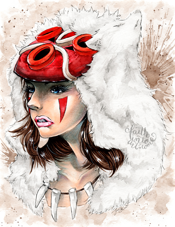 Princess Mononoke by Gezusfreek