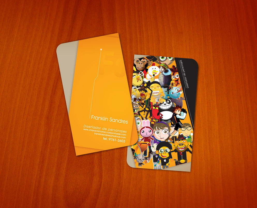 Business Card by 16F on DeviantArt
