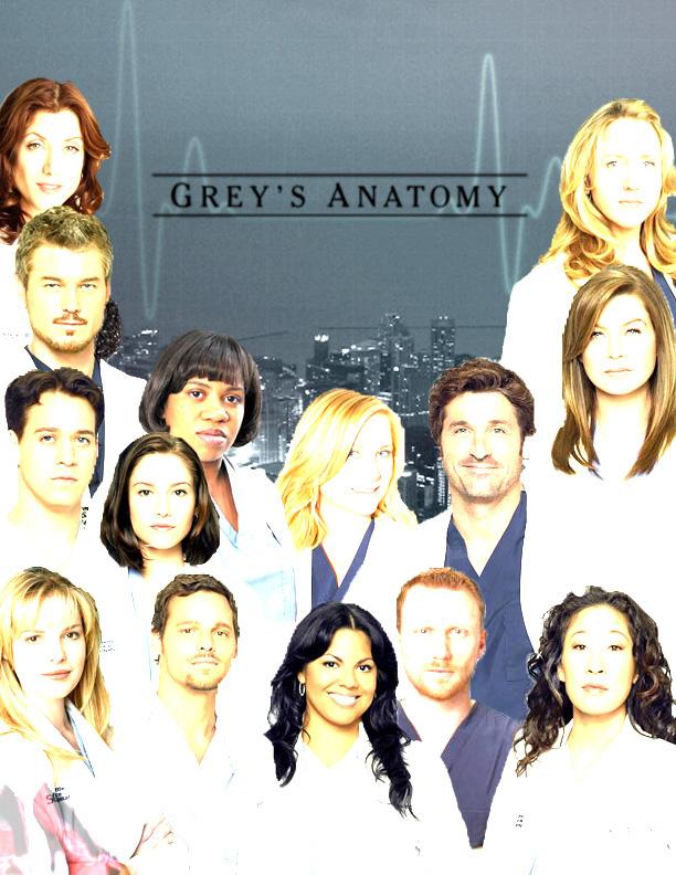 Grey\'s Anatomy Cast by kayrey18 on DeviantArt