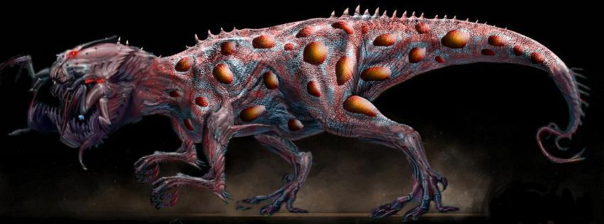 Call Of Duty Ghosts Extinction T Rex Fan Art By Aliennate89 On