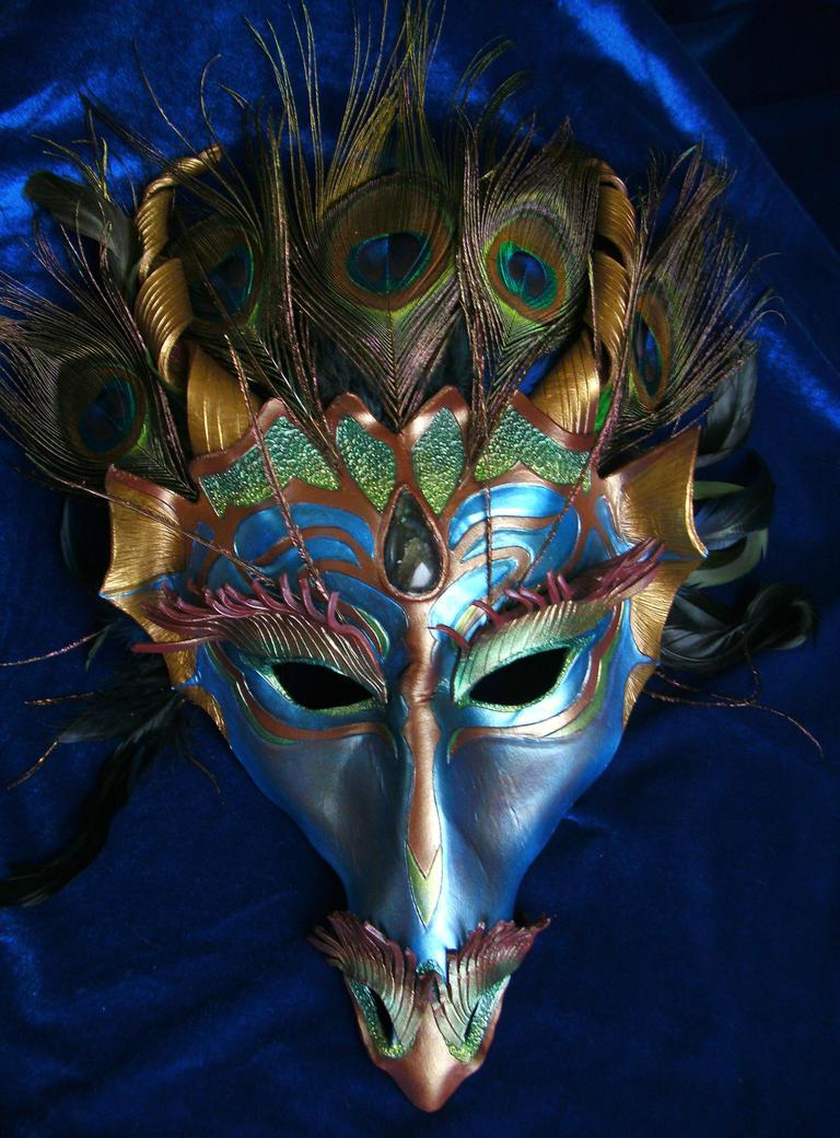 River Dragon Mask 'Mystique' by Draikairion