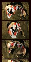 Liquid Fire Koi Mask by Draikairion