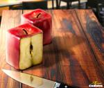 Apple cubes