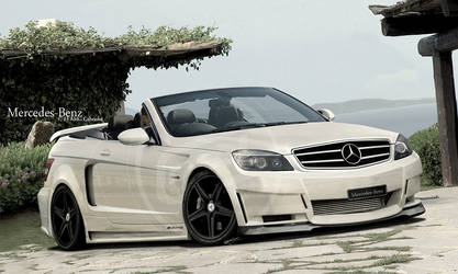 Mercedes C63 AMG Cabriolet by hussain1
