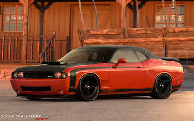Dodge Challenger SRT by hussain1