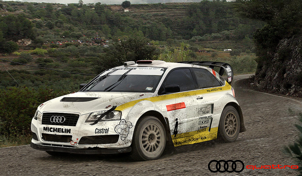 Audi A3 Quattro Rally by hussain1 on DeviantArt