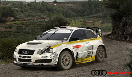 Audi A3 Quattro Rally by hussain1
