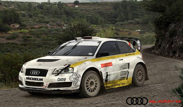 Audi A3 Quattro Rally