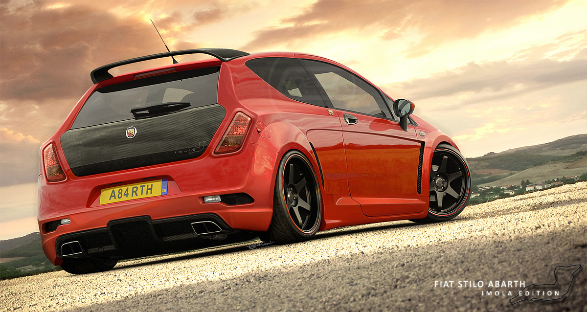 fiat stilo abarth by hussain1 on deviantart. Black Bedroom Furniture Sets. Home Design Ideas