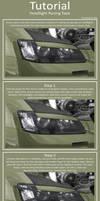 Racing Headlight Tape Tutorial by hussain1