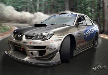 Subaru Impreza 'drift' by hussain1