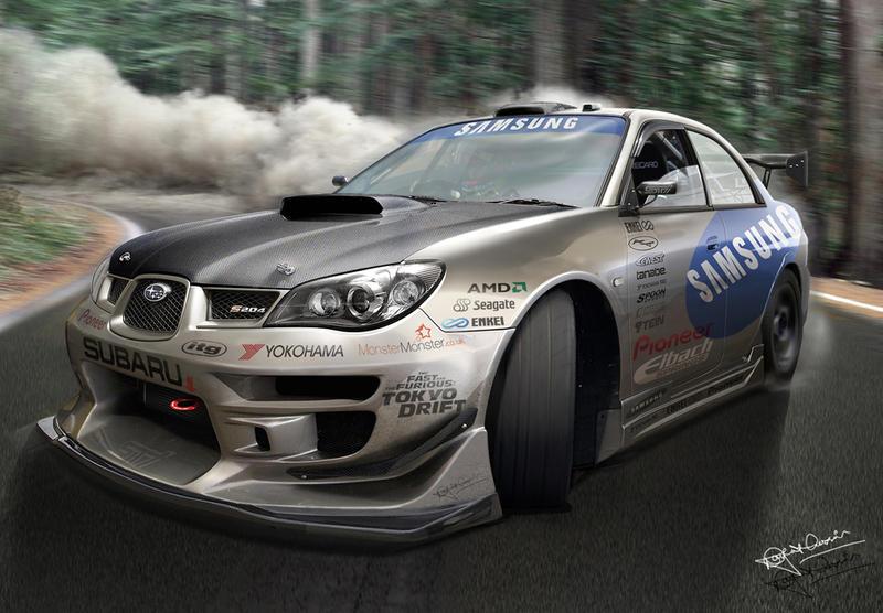 Subaru Impreza 'drift'