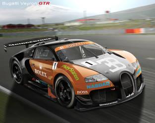 Bugatti Veyron GTR by hussain1