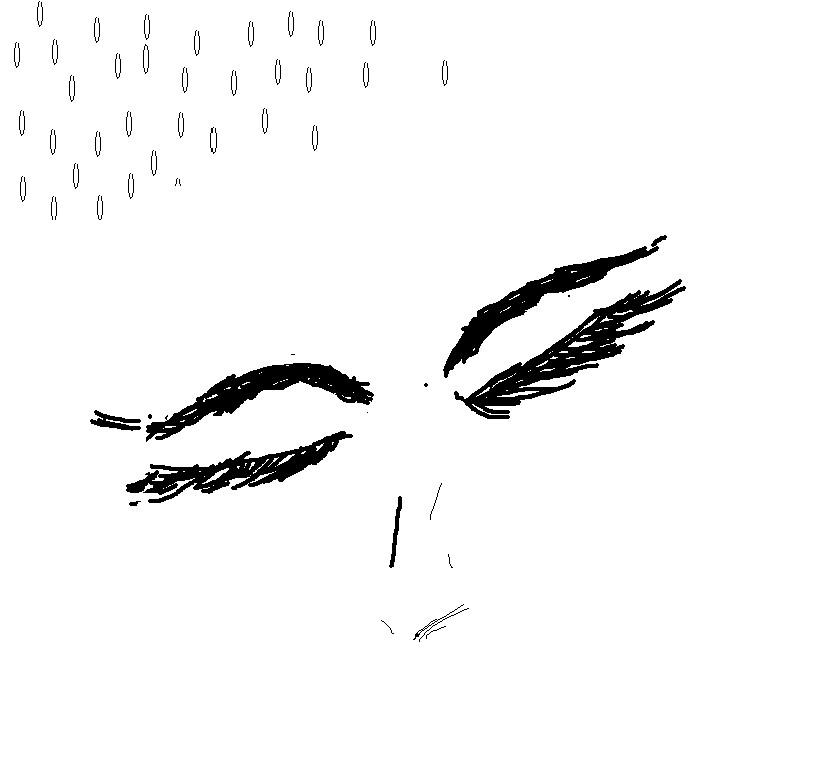 eyes in white by phoenixleo