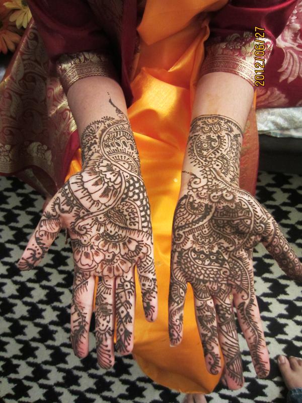 Bridal Henna 1 by phoenixleo
