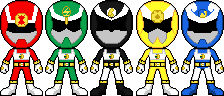 Olympics Sentai Supotsunger
