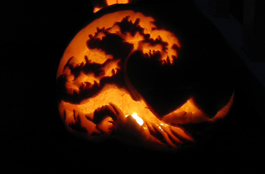The Great Wave off Halloweentown