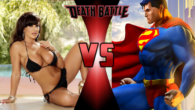Lisa Ann Vs Superman By Viruszilla