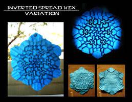 No. 2-var Inverted spread hex