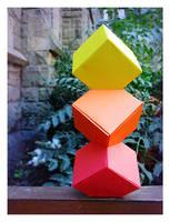 Cube tower by llifi-kei