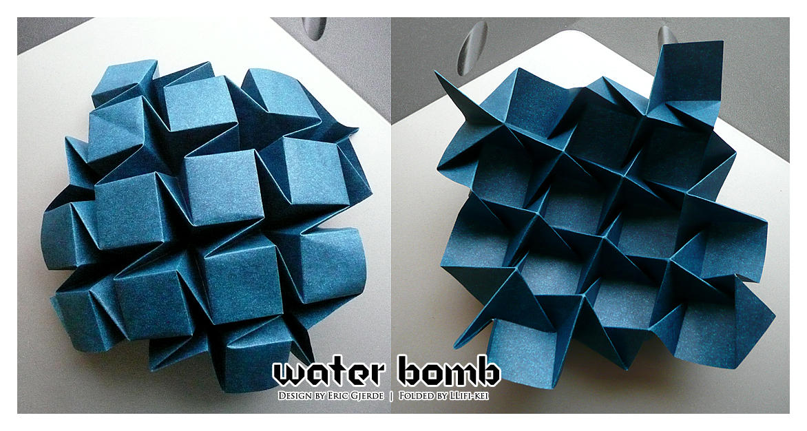 Approximating 3D surfaces using generalized waterbomb ... | 626x1172