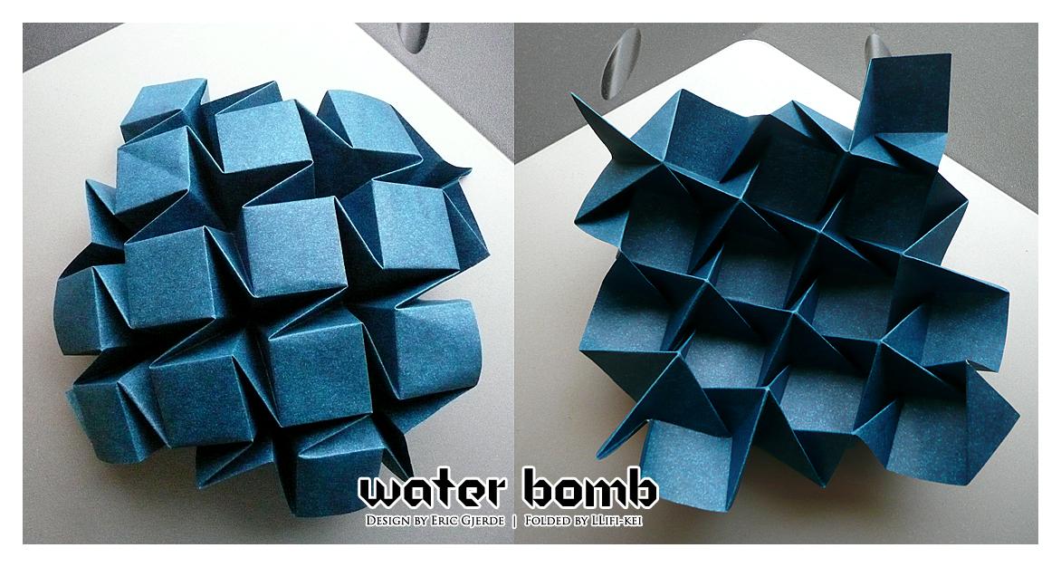 no 9 water bomb by llifi kei on deviantart. Black Bedroom Furniture Sets. Home Design Ideas