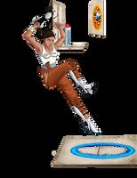 Portal 2 - Chell by MsJillyJelly