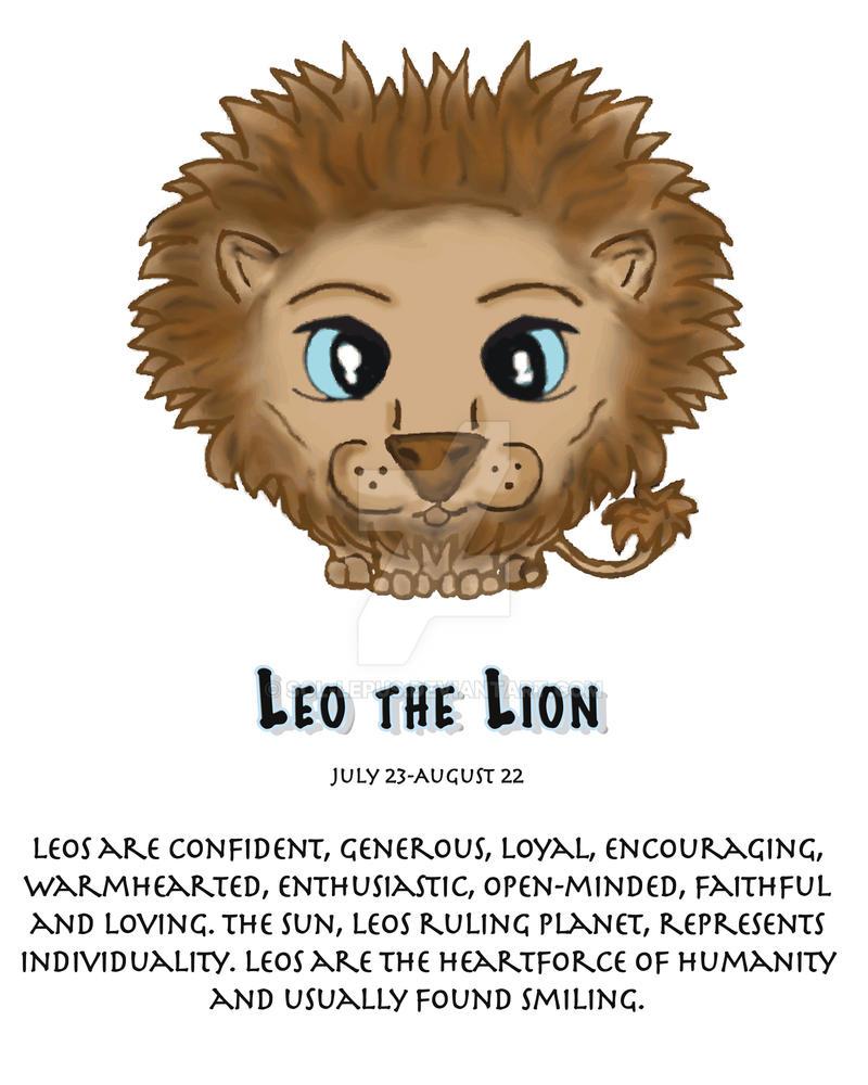 Zodiac 1-Leo The Lion By Sol-Lepus On DeviantArt