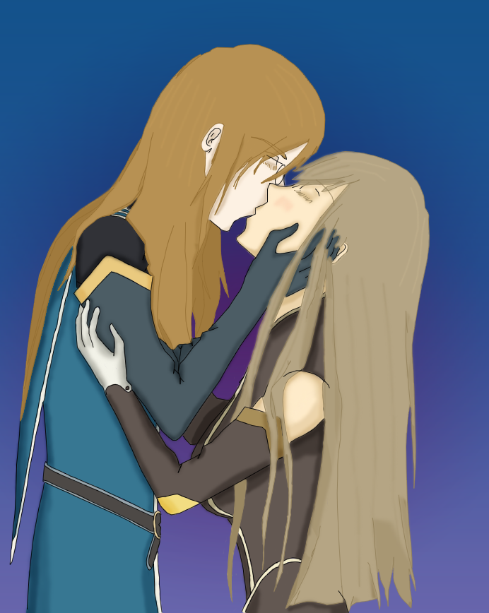 Tales Of The Abyss Luke And Tear Kiss