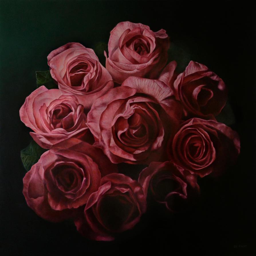 Dissolving Roses by deRaat