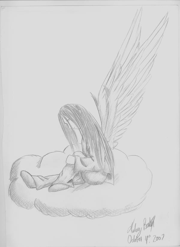 depressed angel drawings - photo #35
