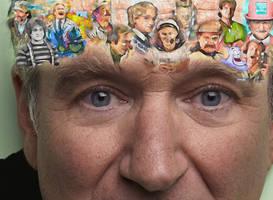 Robin Williams by PencilComic