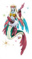 Mermaid Muse by norinoko