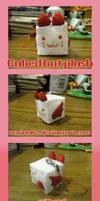 Cube Bat Plushie by norinoko