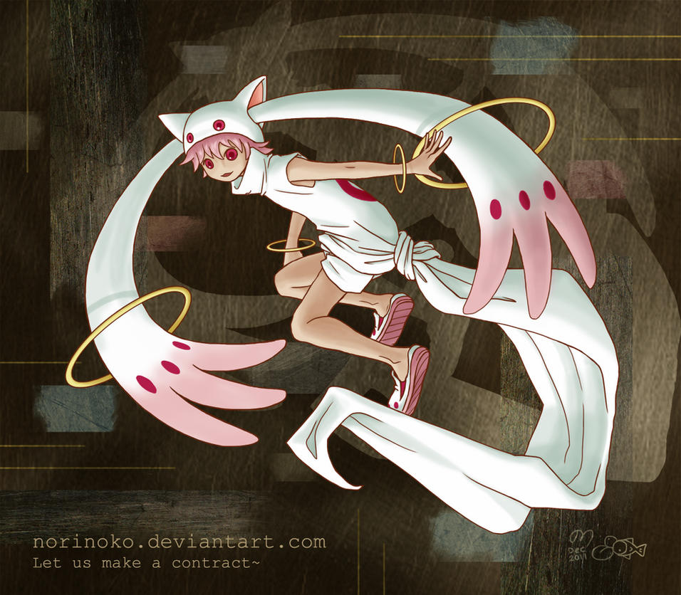Puella Magis Kyubey Cute only on the outside  YouTube