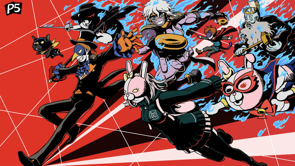 NicoBs Persona 5 Art Contest Entry By Norinoko