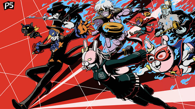 NicoB's Persona 5 Art Contest entry