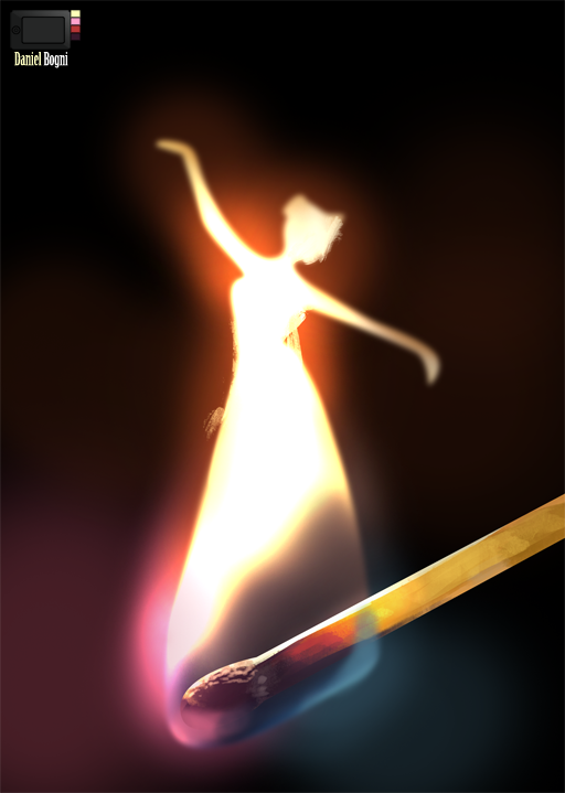 Speedpaint - Flame Alive by danielbogni