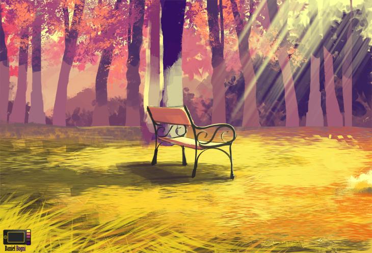 Speedpaint - Autumn by danielbogni