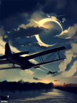 Speedpaint - Fly me to the Moon