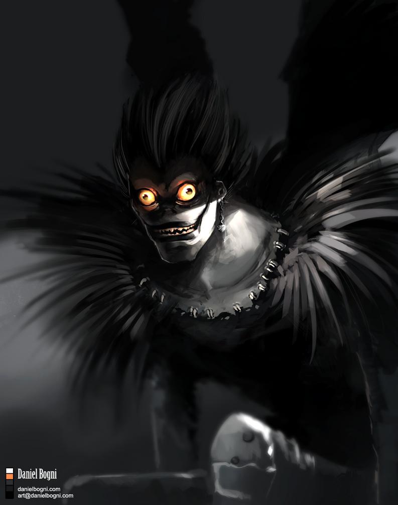 Death Note - Shinigami Ryuk by danielbogni