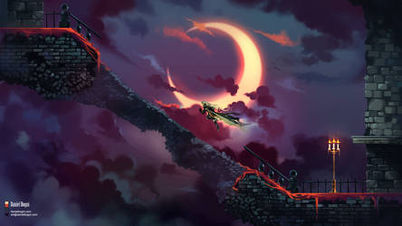 You Will Fall - Castlevania SotN - Fanart by danielbogni