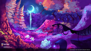 It's Night in Peaceful Place - Commission