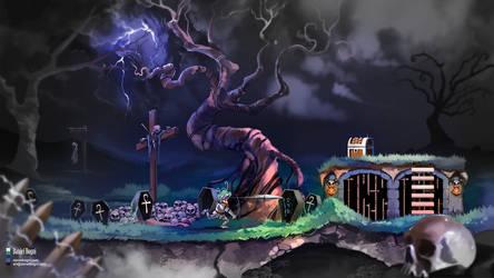 Super Ghouls'n Ghosts - Fanart by danielbogni