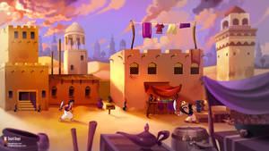 Aladdin - Genesis - Fanart