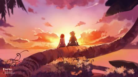 Kiss me once - Kingdom Hearts 3 - Fanart